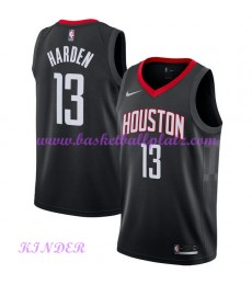 Houston Rockets NBA Trikot Kinder 2018-19 James Harden 13# Statement Edition Basketball Trikots Swin..